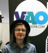 <h5>Rachel Frazier at WLP offices</h5>